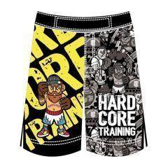 Детские MMA шорты Hardcore Training Doodles