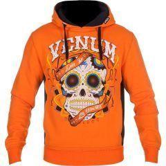 Худи Venum Santa Muerte orange