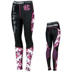 Женские компрессионные штаны Extreme Hobby Pink Teddy Bear