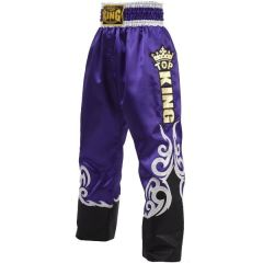 Штаны для кикбоксинга Top King Boxing purple