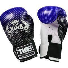 Перчатки боксерские Top King Boxing Gloves Super Star blue