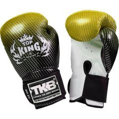 Перчатки боксерские Top King Boxing Gloves Super Star gold
