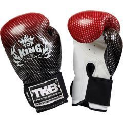 Перчатки боксерские Top King Boxing Gloves Super Star red