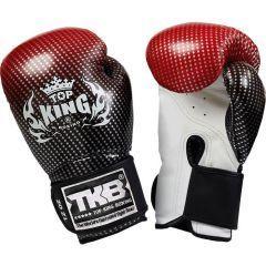 Перчатки боксерские Top King Boxing Gloves Super Star red