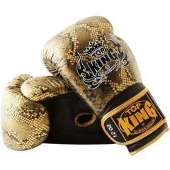 Перчатки боксерские Top King Boxing Snake Gold