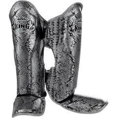 Защита голени (шингарды) Top King Boxing Snake Silver