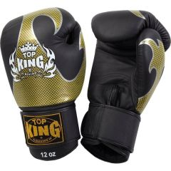 Перчатки боксерские Top King Boxing Empower Creativity Gold