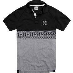 Рубашка-поло Wicked One Shepard gray - black
