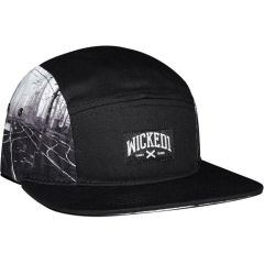 Бейсболка (пятипанелька) Wicked One Metal