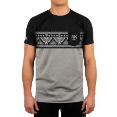 Футболка Wicked One Native gray - black