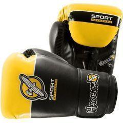 Боксерские перчатки Hayabusa Sport Line 10oz black - yellow