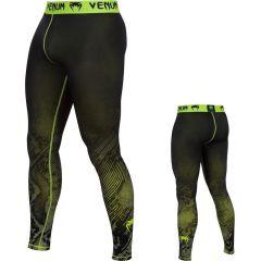 Компрессионные штаны Venum Fusion yellow