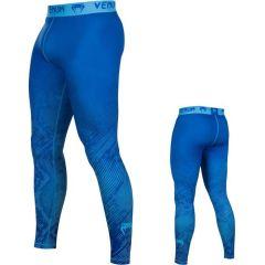Компрессионные штаны Venum Fusion blue