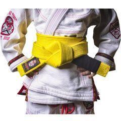 Детский Пояс для кимоно БЖЖ IGWT yellow