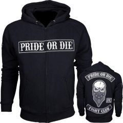 Толстовка Pride Or Die Fight Club