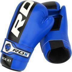 Перчатки для спаррингов RDX Blue Semi Contact Gloves SCG-X1
