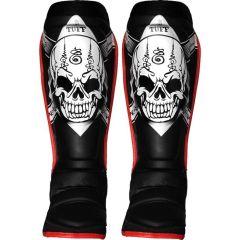 Защита голени (шингарды) Tuff Skull Black