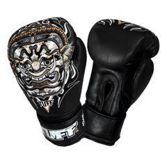 Боксерские перчатки Tuff Yak Black