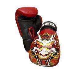 Боксерские перчатки Tuff Dragon Red