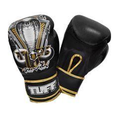 Боксерские перчатки Tuff Snake Black