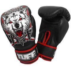 Боксерские перчатки Tuff Wolf Black
