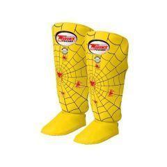 Защита голени (шингарды) Twins Spider Shin Guards yellow
