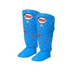 Защита голени (шингарды) Twins Spider Shin Guards blue