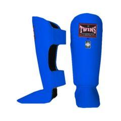 Защита голени (шингарды) Twins Classic Shin Guards blue