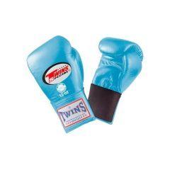 Боксерские перчатки Twins Special w/ Elastic BGEL-1 light blue