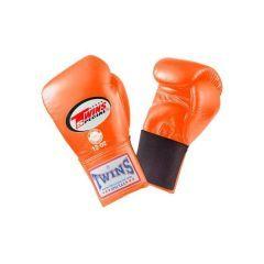 Боксерские перчатки Twins Special w/ Elastic BGEL-1 orange