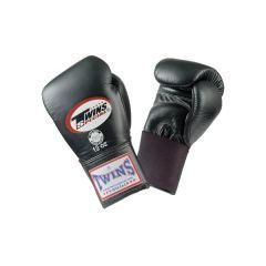 Боксерские перчатки Twins Special w/ Elastic BGEL-1 black