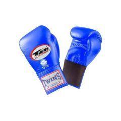 Боксерские перчатки Twins Special w/ Elastic BGEL-1 blue