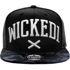 Бейсболка (СНЭПБЭК) Wicked One Camo black