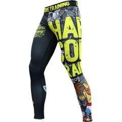 Компрессионные штаны Hardcore Training Doodles