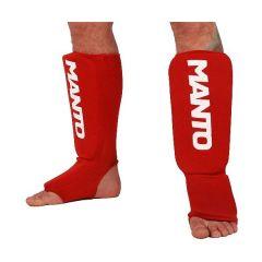 Защита голени и стопы Manto Logotype red