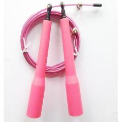 Скоростная скакалка Heavy Sport SR-3 pink