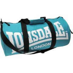 Спортивная сумка Lonsdale Barrel light blue - white