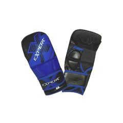 Гибридные MMA перчатки Flamma Expert black - blue
