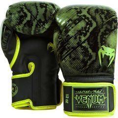 Боксерские перчатки Venum Fusion black - yellow