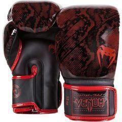 Боксерские перчатки Venum Fusion black - red