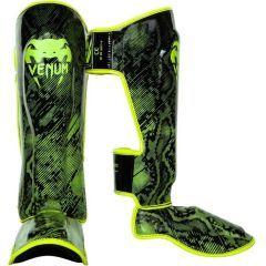 Защита голени и стопы (шингарды) Venum Fusion black - yellow