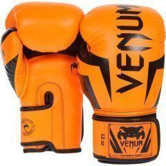 Боксерские перчатки Venum Elite black - orange