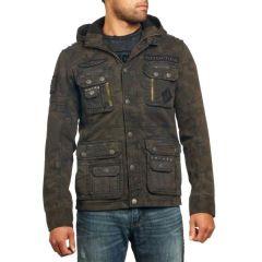 Куртка Affliction Army Of US с капюшоном