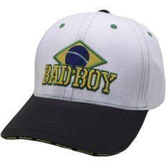 Бейсболка (кепка) Bad Boy Brazilian white
