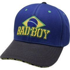Бейсболка (кепка) Bad Boy Brazilian blue