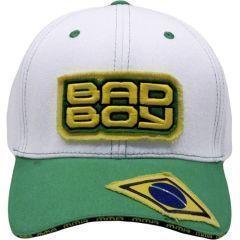 Бейсболка (кепка) Bad Boy Jiu Jitsu white