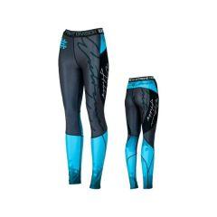 Женские компрессионные штаны Extreme Hobby Rapid blue