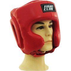 Боксёрский шлем Fight Club red