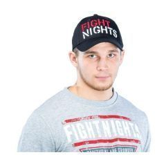 Бейсболка Fight Nights black