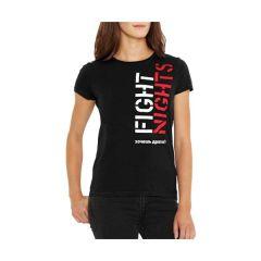 Женская футболка Fight Nights Хочешь драться?